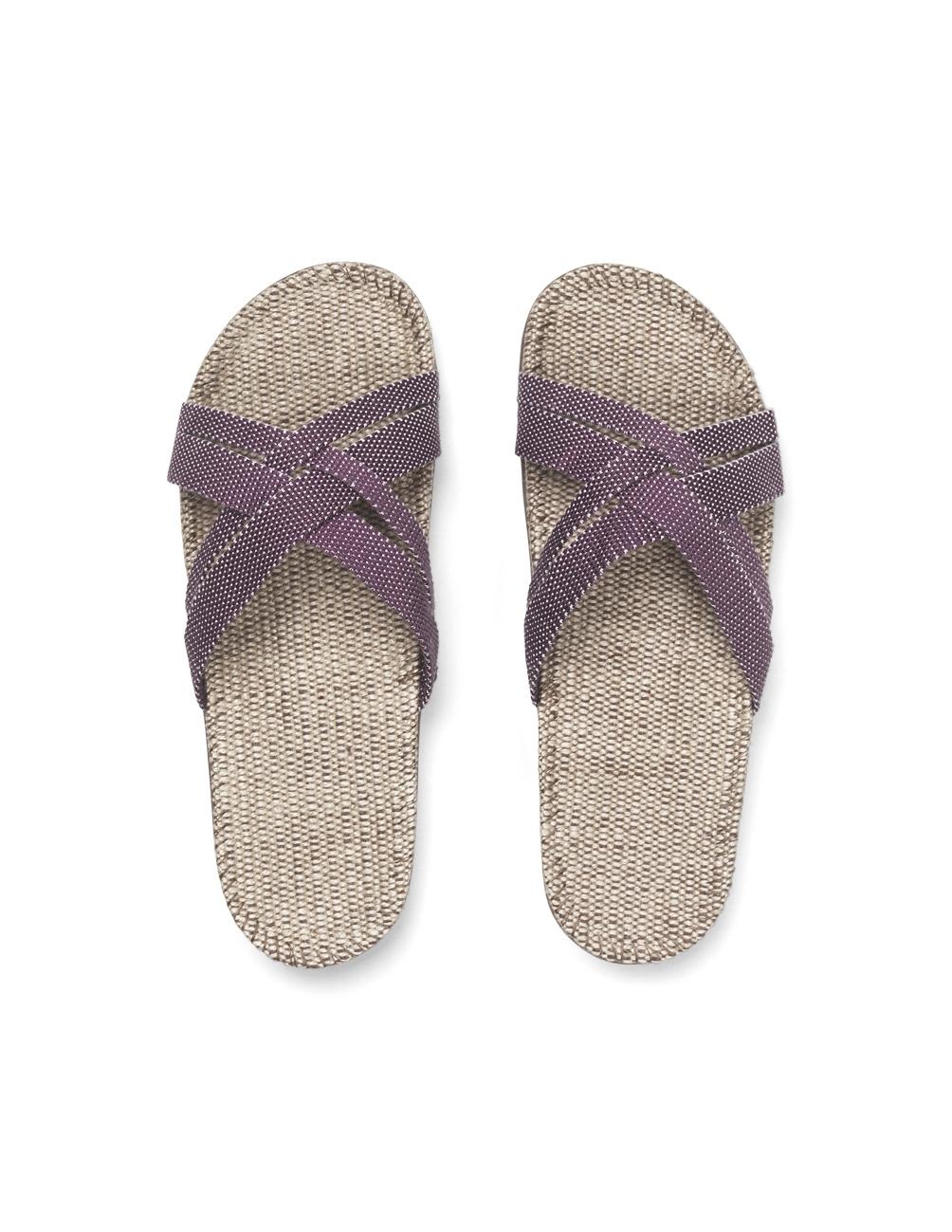 Sandals Dusty Purple