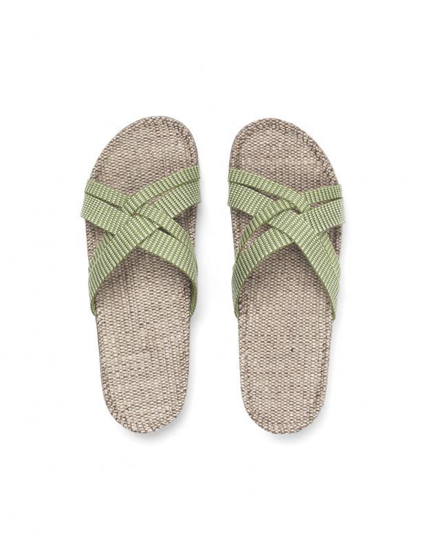 Sandaler Green Leaves