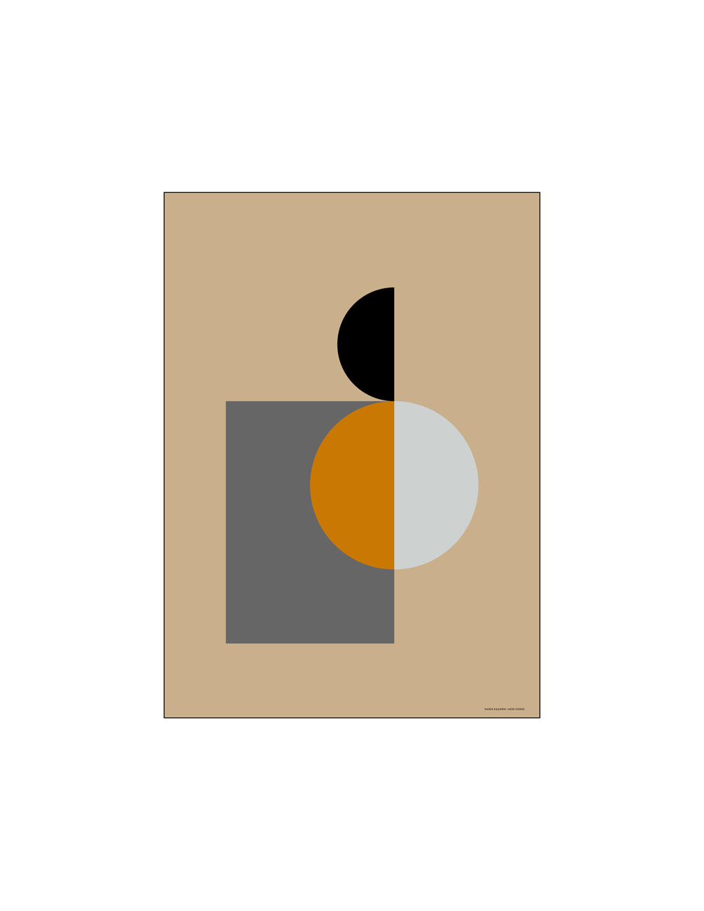 Shapes & Forms 04 Poster 30x40cm