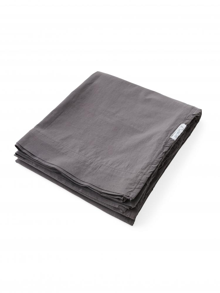 Lakan Crinkle Dark Grey