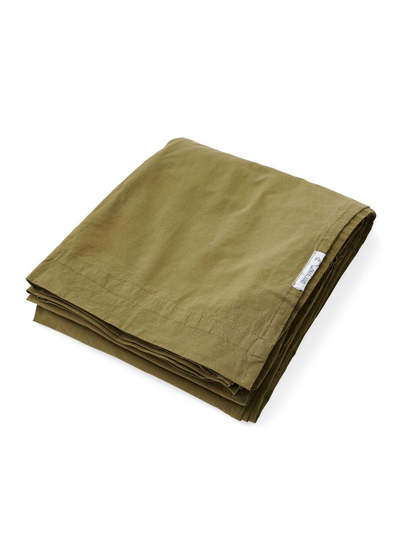 Lakan Crinkle Moss Green
