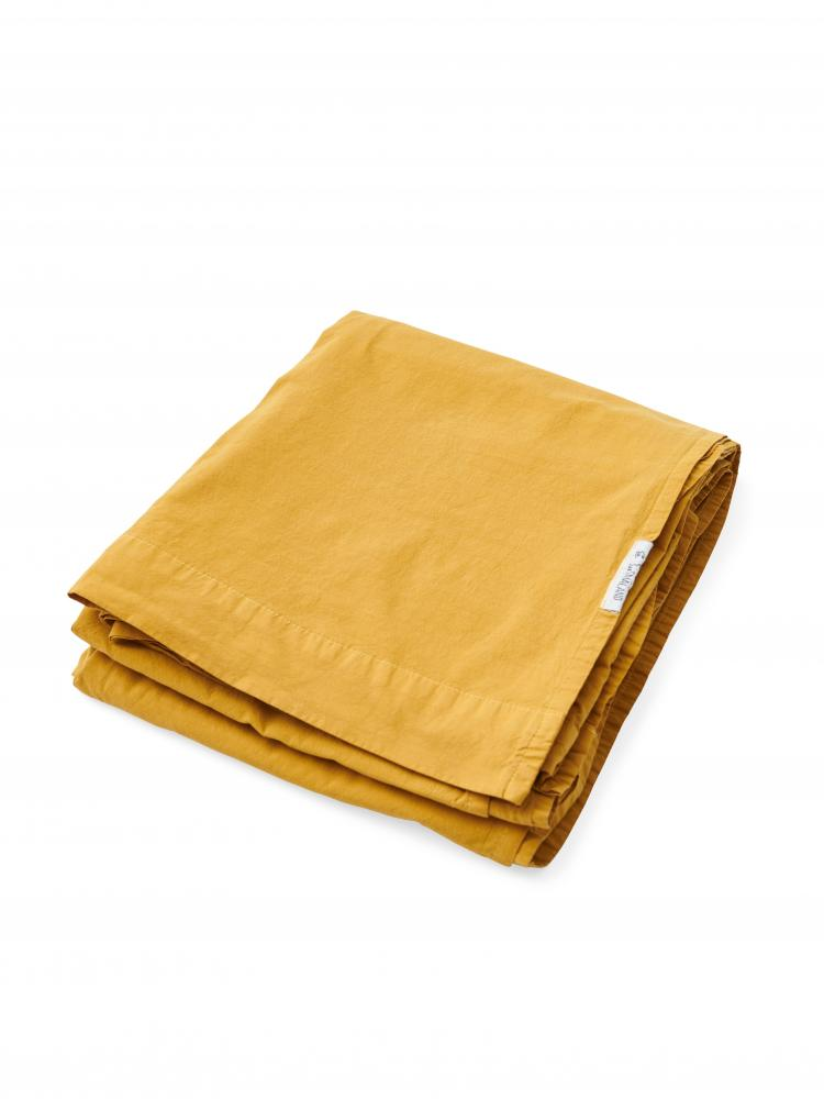 Sheets Crinkle Mustard Gold