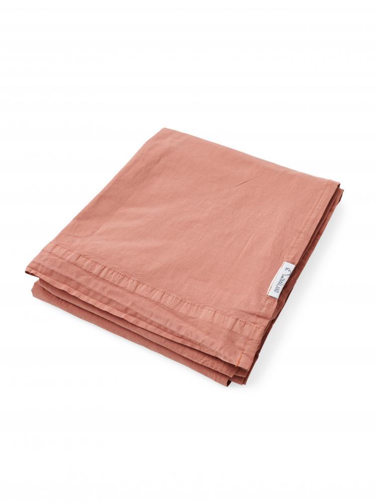Sheets Crinkle Terracotta