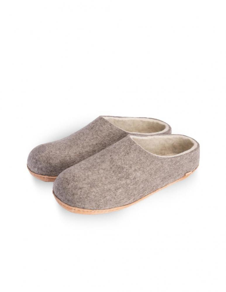 Tova Eco Slippers Grey