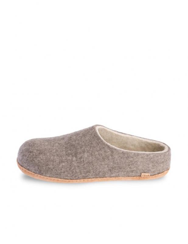 Tova Eco Slippers Grey