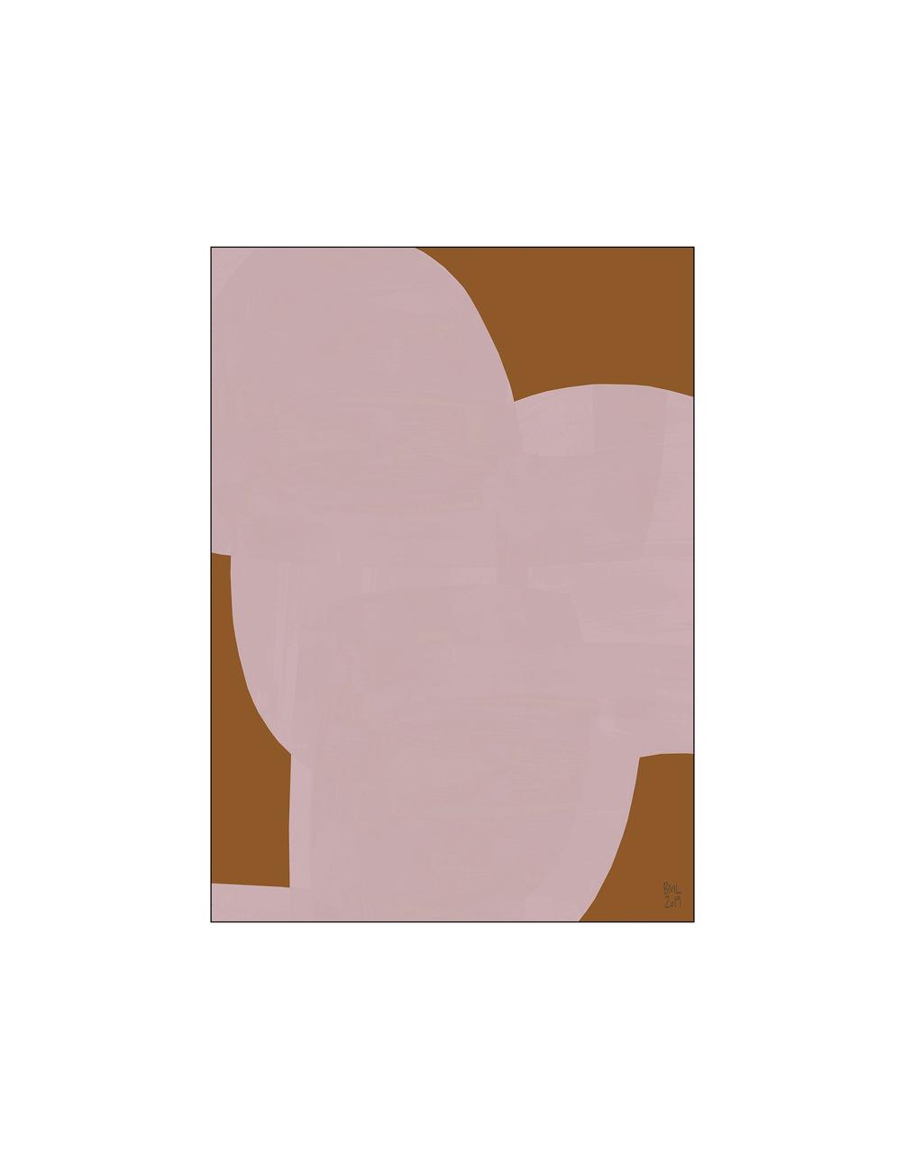 Poster Soft Shape 30x40cm