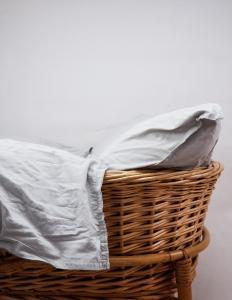 Baby Duvet Cover Crinkler Light Grey