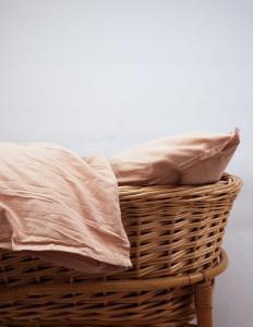 Baby Duvet Cover Crinkler Peach Pink