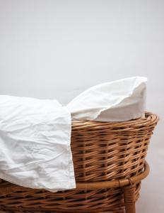 Baby Duvet Cover Crinkler White
