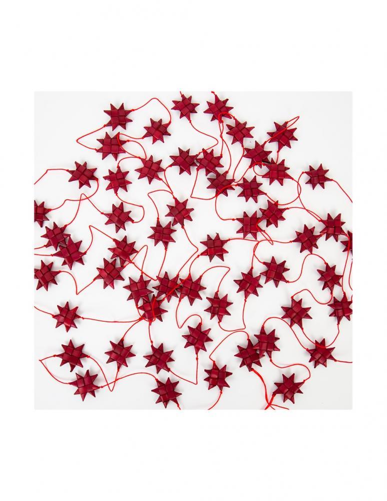 Röd Stars on a String Girlang