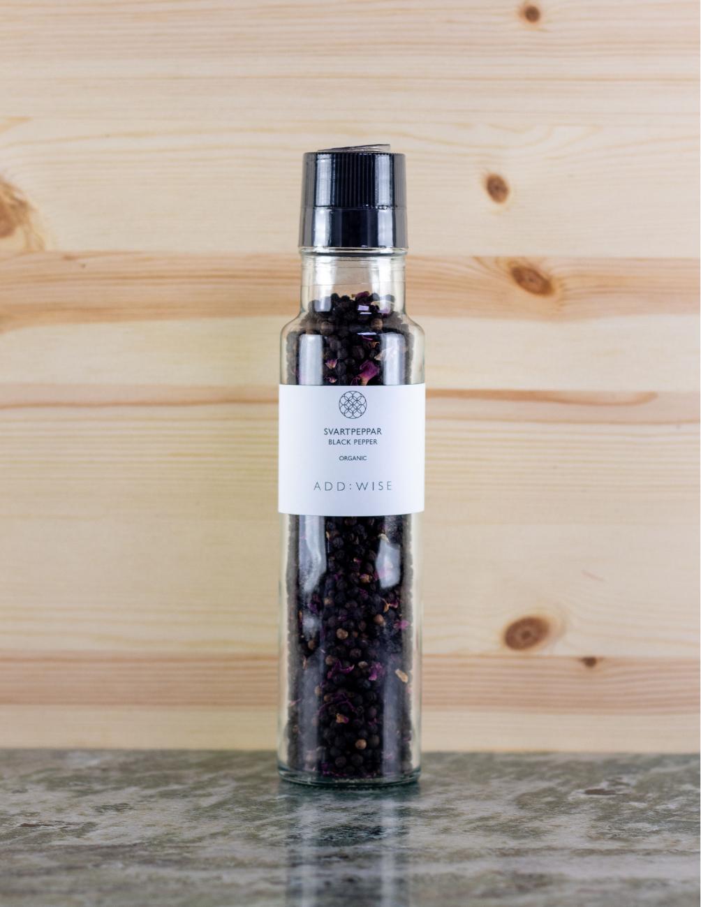 Spice Grinder Black Pepper Rose