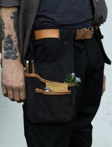 Sweet Pea Tool Pockets Black