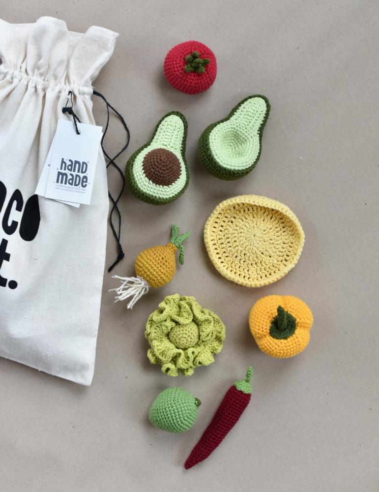 Taco Set Crochet