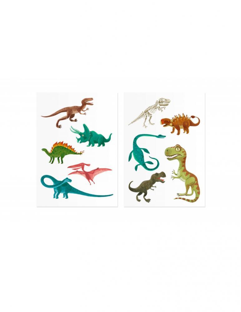 Jurassic Tattoos Rub On