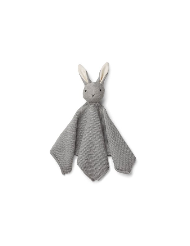 Milo Knit Cuddle Cloth Grey Melange
