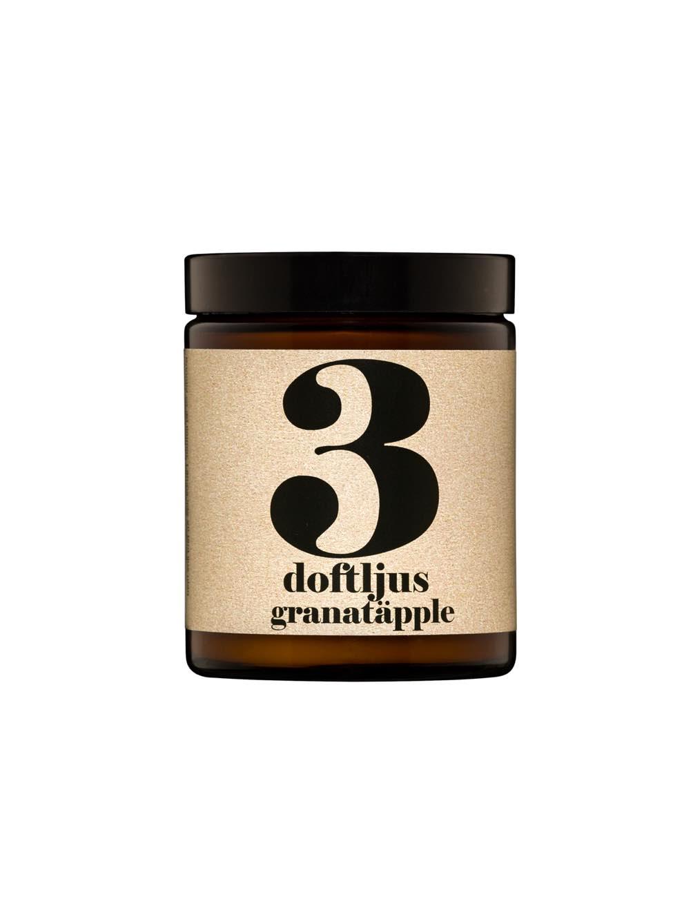 Doftljus Granatäpple nr 3