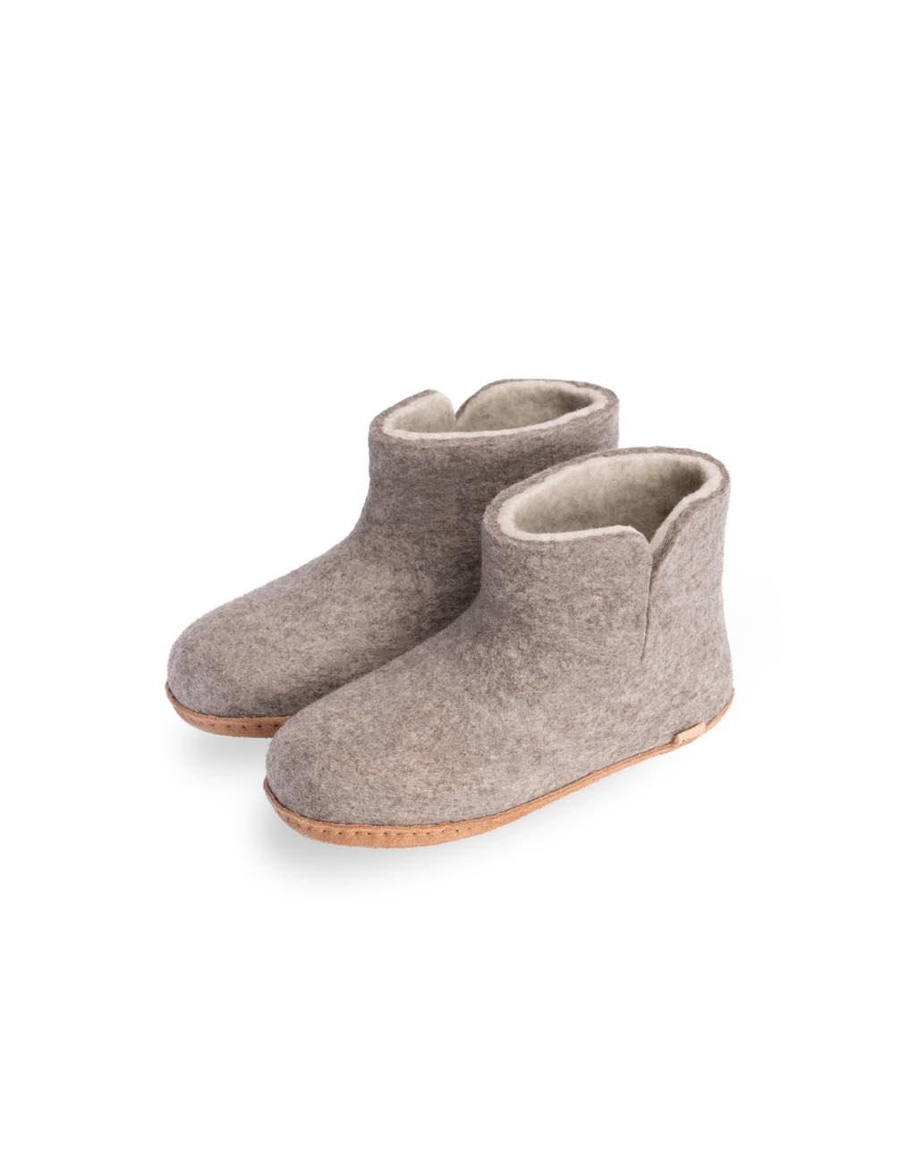 Tova Eco Kids Slippers Grey