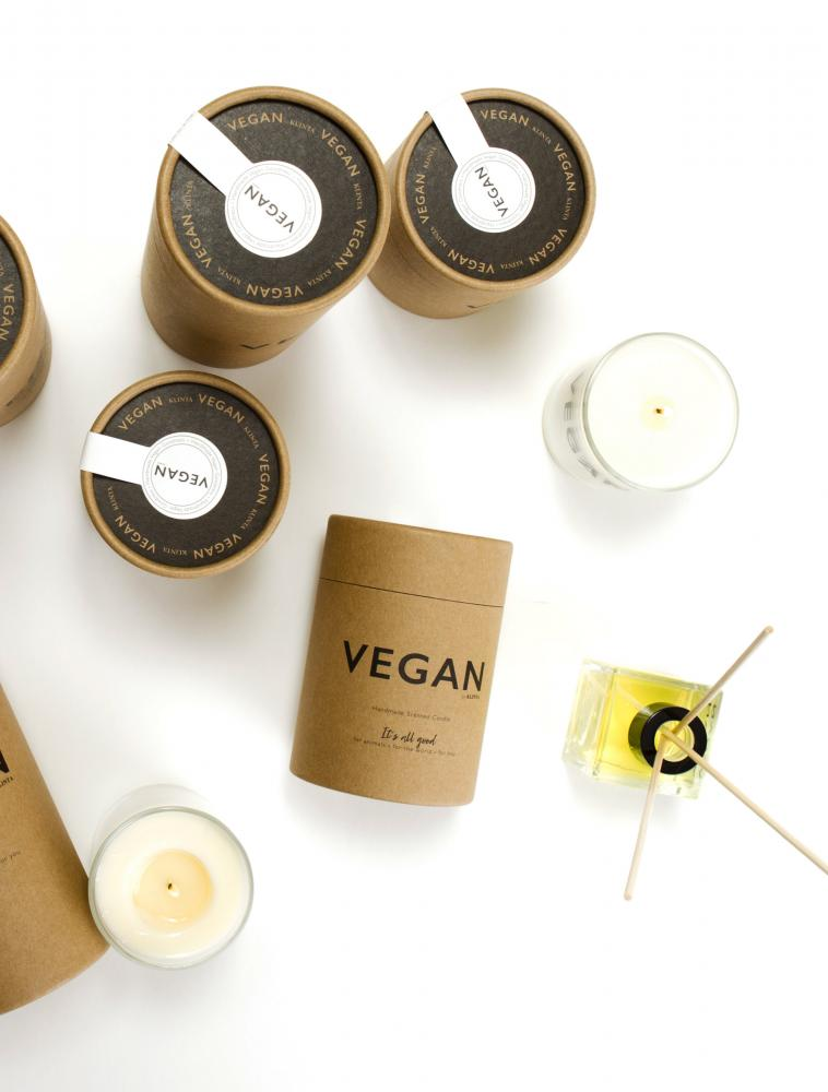 Vegan Scented Candles Eucalyptus & Peppermint