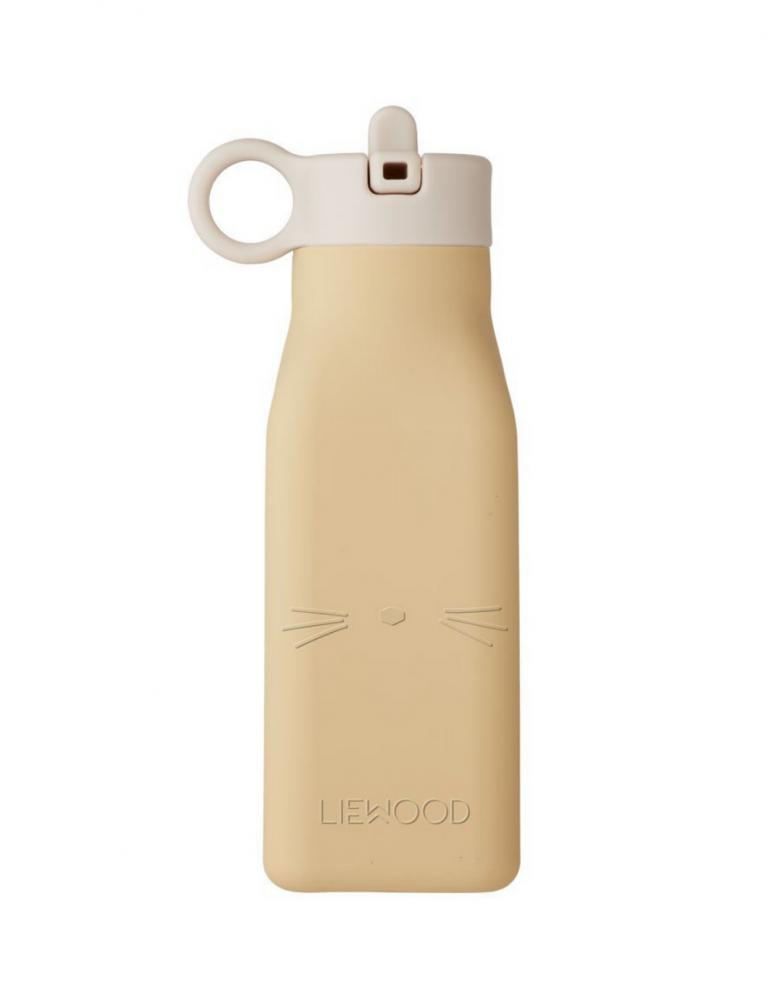 Vattenflaska Wheat Yellow Cat
