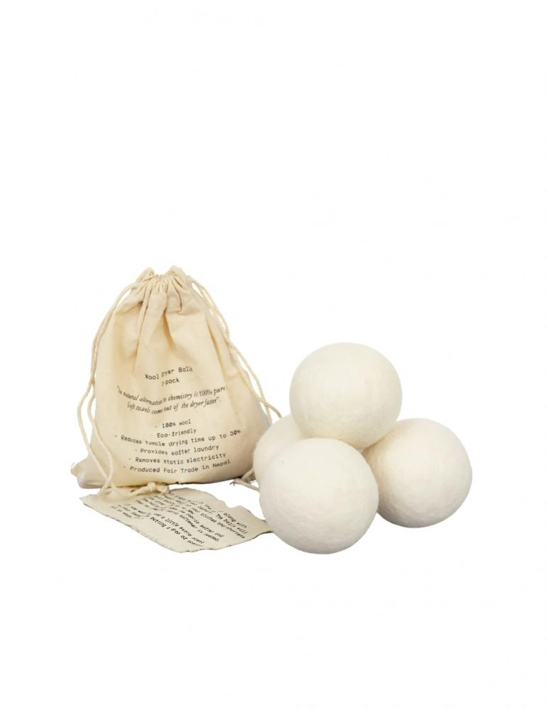 Wool Dryer Balls 4-pack
