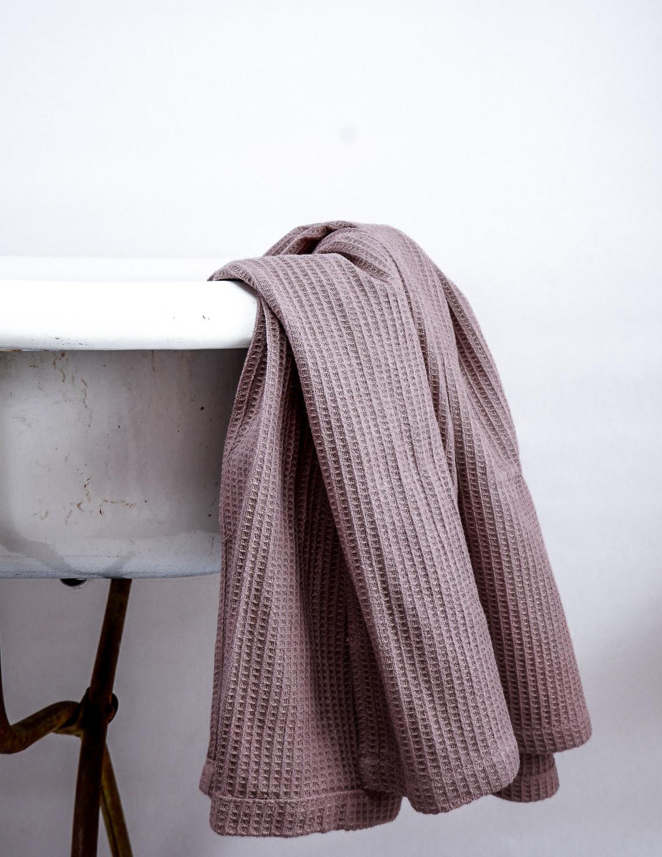 Waffle Towel Rose Taupe