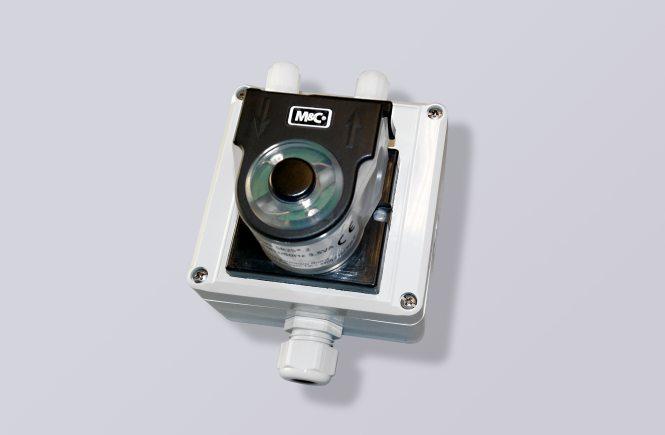 Slangpump SR25.2-G med kapsling 105 x 105 x 107 mm