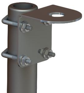 Vägg/mastfäste Scan Antenna