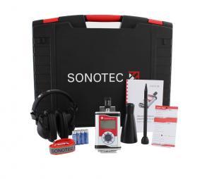 Läcksökare för tryckluft, komplett set - Sonaphone Pocket