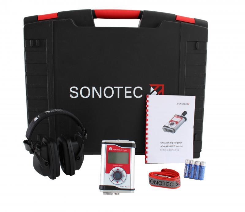 Läcksökare grundset utan sonder - Sonaphone Pocket
