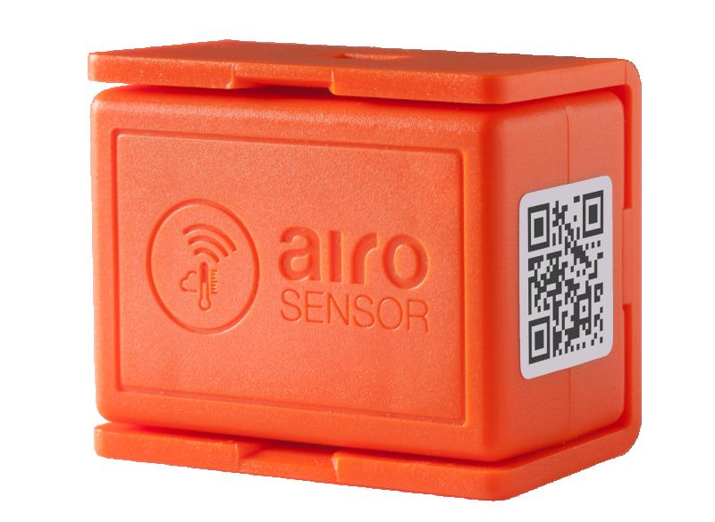 Trådlös temperatur- & RH-logger - Airosensor