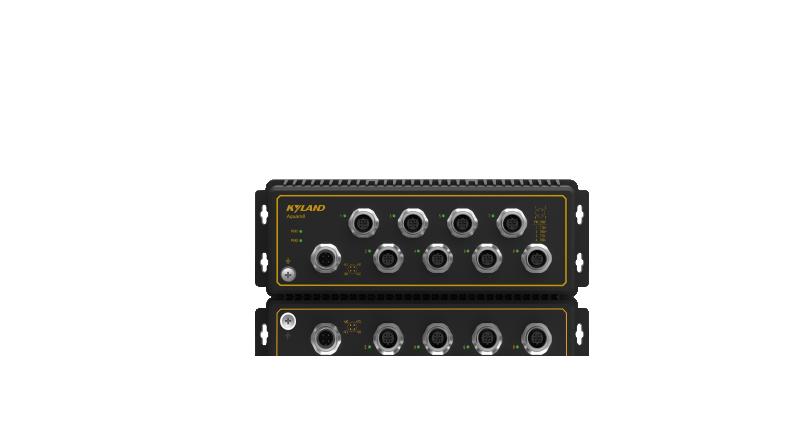 Aquam 8 tågklassad switch