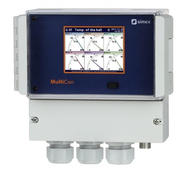 Styrsystem för väggmontage Multicon CMC-N116