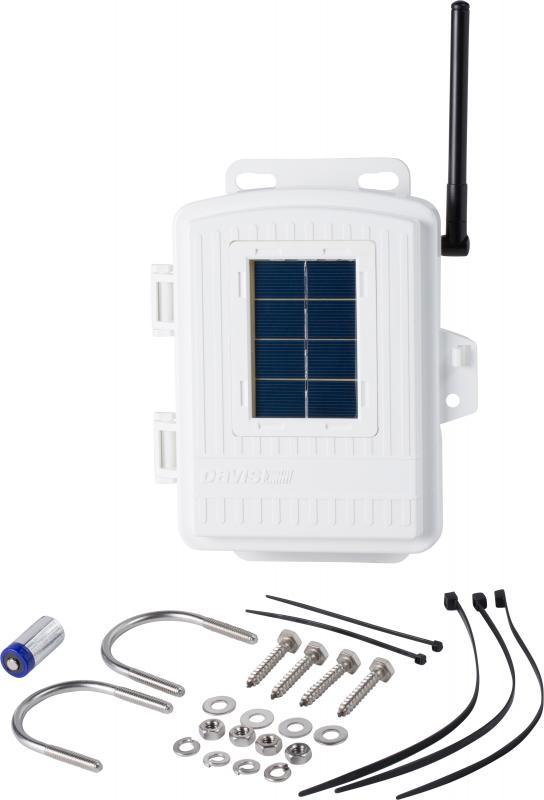 Trådlös sensorstation med solceller