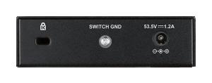 D-Link DGS-1005P 5-portars Gigabit PoE switch