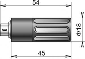 Rumsgivare temperatur & luftfuktighet för Comet Multilogger
