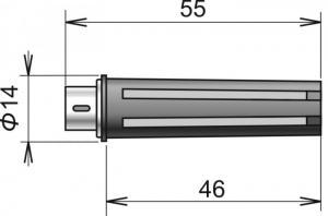 Digital temperatur & luftfuktighetsgivare DIGIS-M