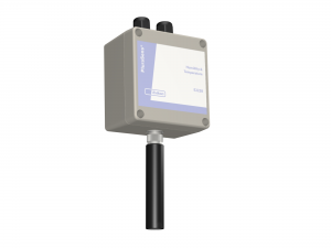Temperatur- & luftfuktighetstransmitter med analog ut, reläutg & RS485