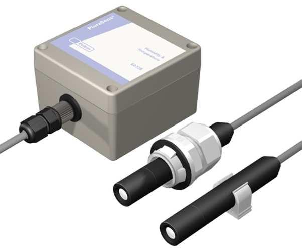 Temperatur- & luftfuktighetstransmitter +125°C