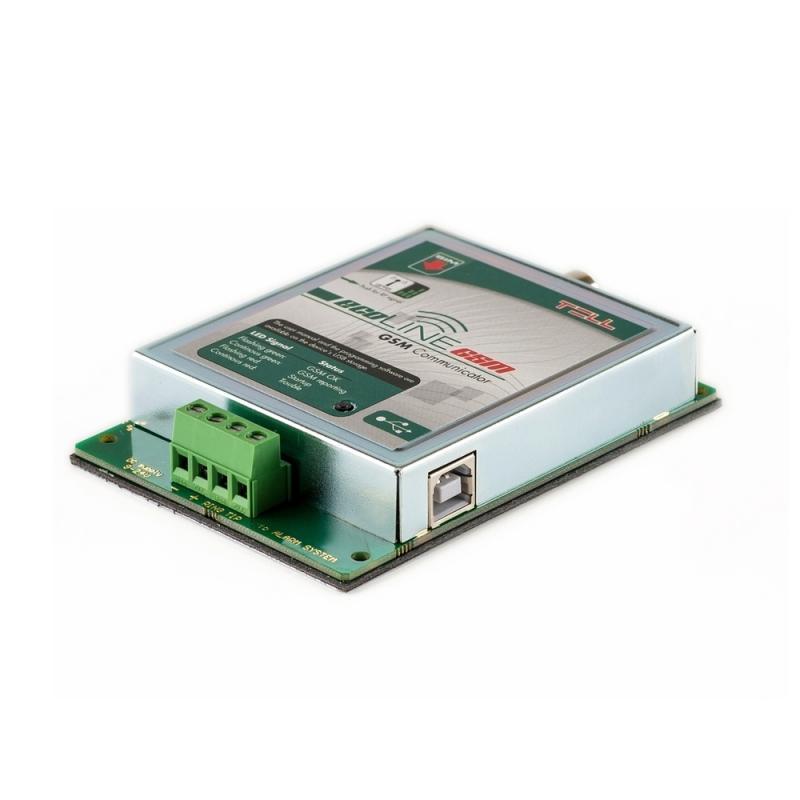 Modul för fast telefoni via GSM Ecoline II - Kopplingsplint