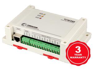 Ethernet datalogger för energimätning & process 24 kanaler
