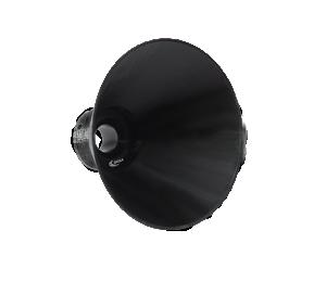 Insamlingstratt till gastransmittrar & -detektorer i serie DEGA-NS
