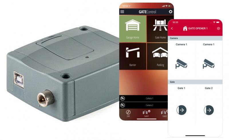 Grindstyrning med app 20 användare 4G