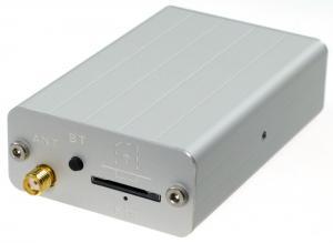 GSM-styrning i alu-kapsling 1xDin, 1 x Dut, 1 xTemp