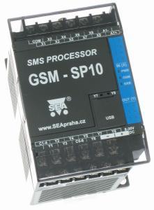 GSM-styrning med 9xDin, 1xAin, 8xDut
