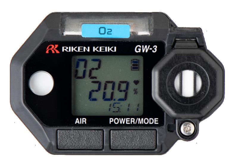 Portabelt gaslarm för O2 - Gas Watch