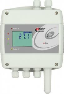 Temperaturregulator med Ethernet - Web Sensor