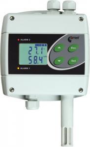 Temperatur- och luftfuktighetsregulator med 230V reläer H3060