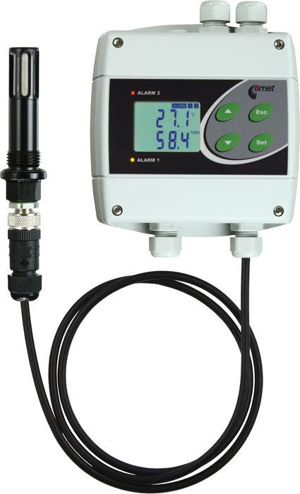 Daggpunktsregulator med 230V reläer för tryckluft