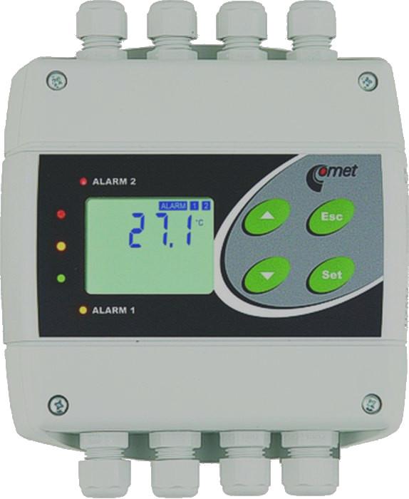Temperaturregulator för Pt1000 med RS485
