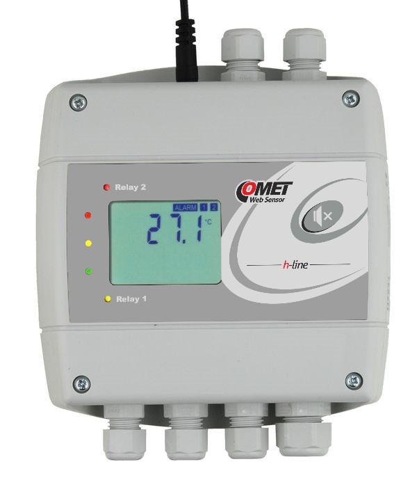 Temperaturregulator för en temperaturgivare typ Pt1000 med Ethernet